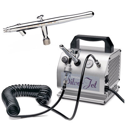 Mediterranean Tan Contouring - Silver Jet Compressor & ABF Filter With Airbrush