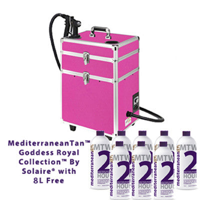 Mediterranean Tan Goddess Royal Collection By Solaire with 8L Free