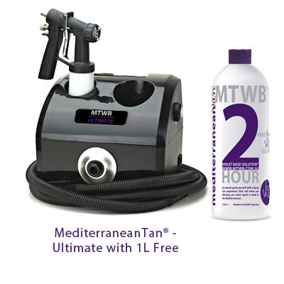 Mediterranean Tan Ultimate with 1L Free