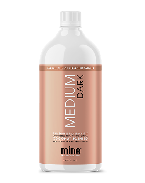 MineTan Medium Dark Pro Spray Mist
