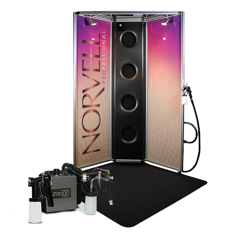 Norvell Pro Sunless Spray Arena with Full Colors