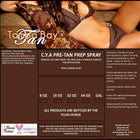 C.Y.A. Pre Tan Prep Spray - Tampa Bay Tan