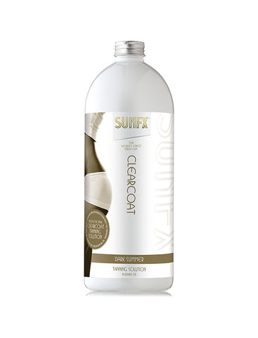 SunFX Clear Coat 1 Litre Spray Tan Solution