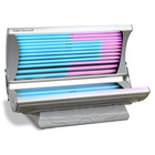 Solar Storm 24S Home Tanning Bed In Silver With Face Tanning - 110v