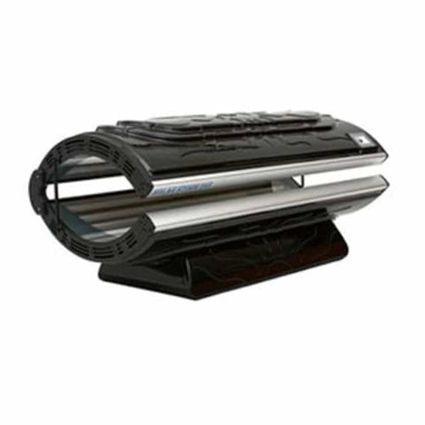Solar Storm 24S Home Tanning Bed In Black With Face Tanning - 110v
