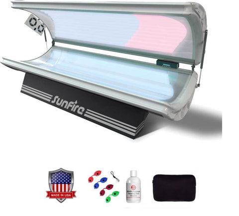 Wolff SunFire Pro Platinum 32X Commercial Tanning Bed - 220v