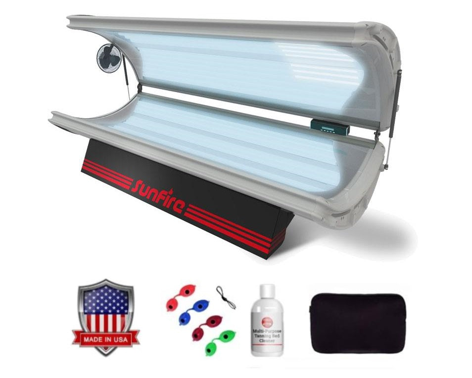 Wolff SunFire 32 Pro Commercial Tanning Bed - 220v