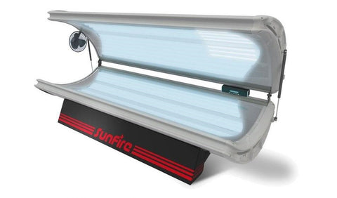 Wolff SunFire Pro 24 Deluxe Commercial Tanning Bed - 220v