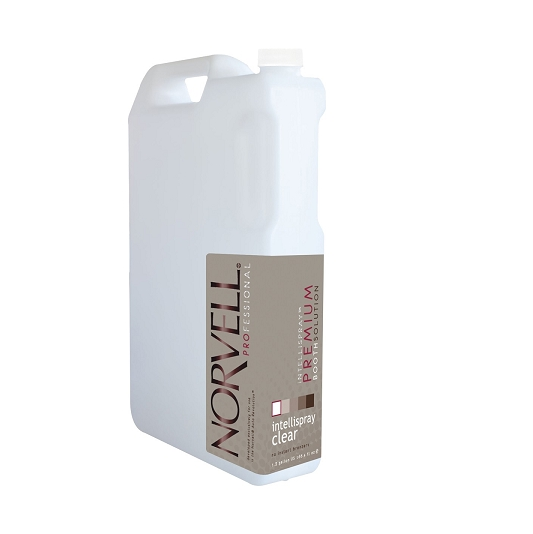 Norvell iNTELLiSPRAY Booth Solution Clear 1.3 Gal
