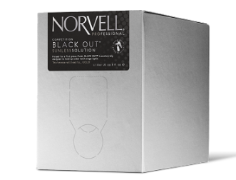 Norvell Competition Black Out Sunless Solution 34 oz Box