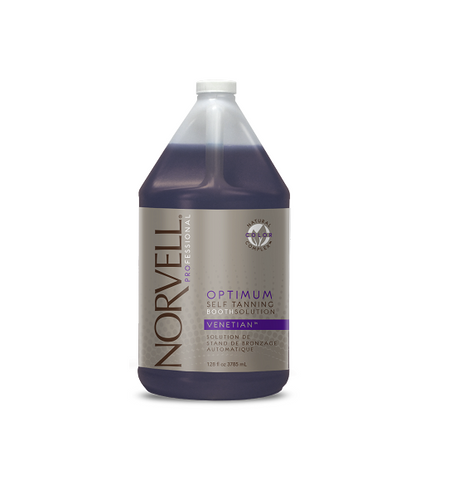 Norvell Optimum Self Tanning Booth Solution - VENETIAN 128 oz