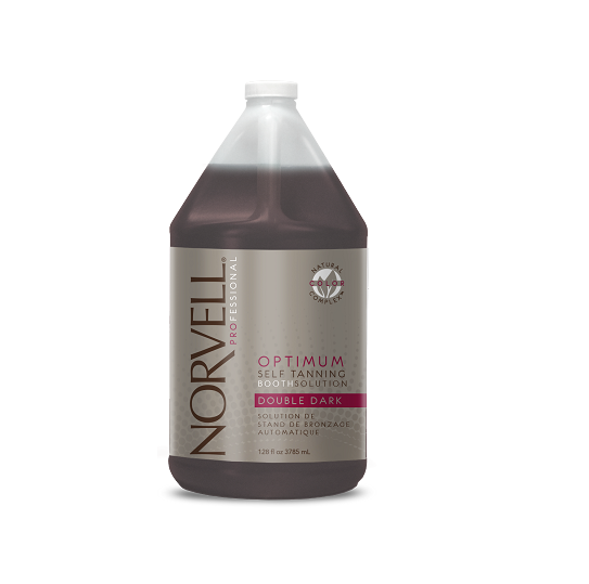 Norvell Optimum Self Tanning Booth Solution - DOUBLE DARK 128 oz