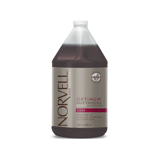 Norvell Optimum Self Tanning Booth Solution - DARK 128 oz