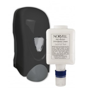 Norvell DHA Barrier Cream Dispenser w/1 Refill Cartridge
