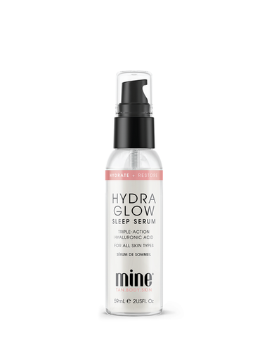 MineTan Hydra Glow Sleep Serum