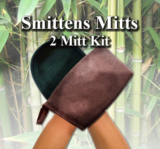 Smittens Sunless Tanning Applicator and Exfoliation Mitt Set - Tampa Bay Tan