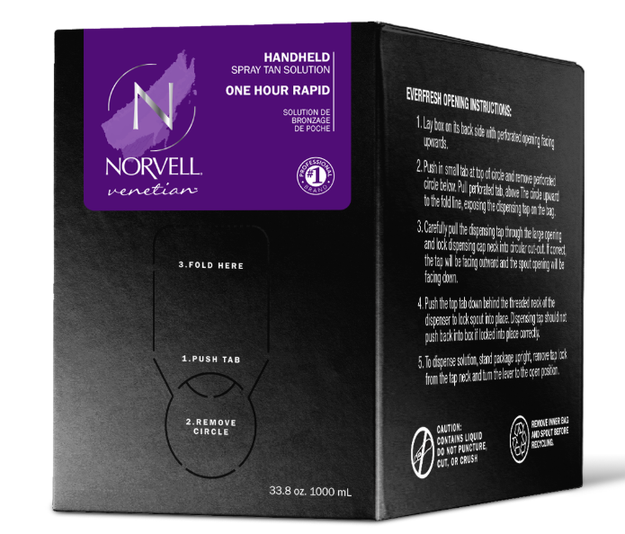 Norvell Venetian ONE Sunless Solution 34 oz Box