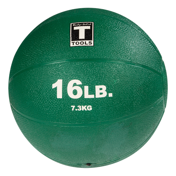 Body Solid Tools BSTMB16 Medicine Ball 16lb