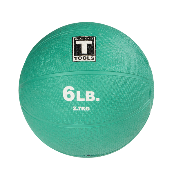 Body Solid Tools BSTMB6 Medicine Ball 6lb