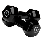 Body Solid Tools BSTVDS164 Vinyl Dumbbells Set (1-15 Lb)