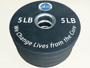 The ABS Company 5 lb. Weight - Set Of Four