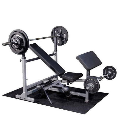 Body Solid PowerCenter Package with Weight Sets