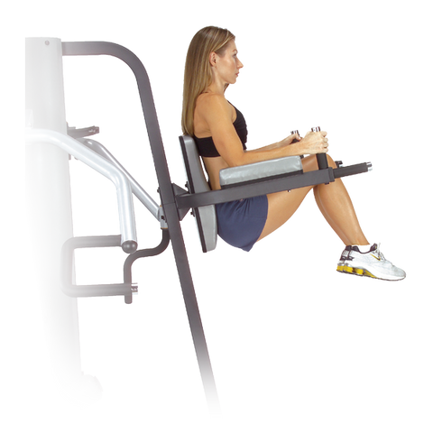 Body Solid GKR9 Vertical Knee Raise and Dip Station for G9S