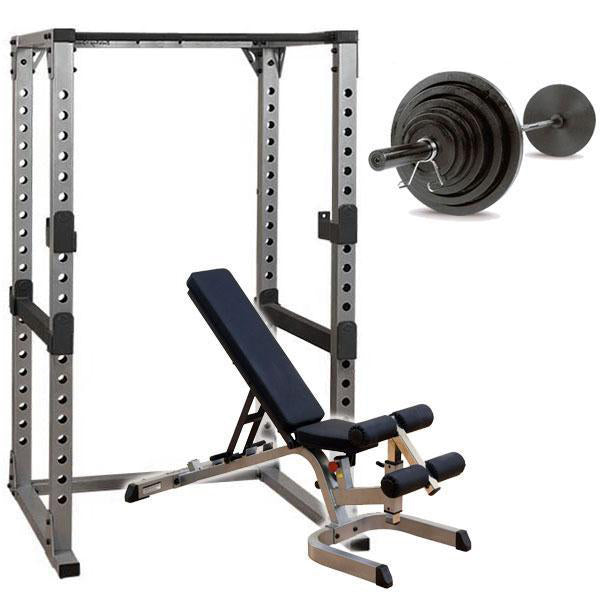 Body Solid GPR378 Power Rack Package 300