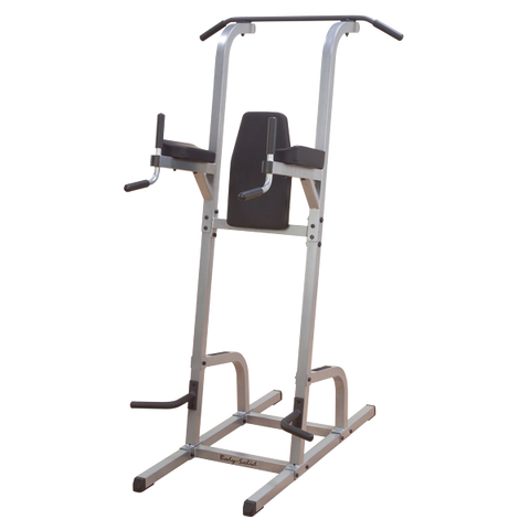 Body Solid GVKR82 Vertical Knee Raise, Dip, Pull Up