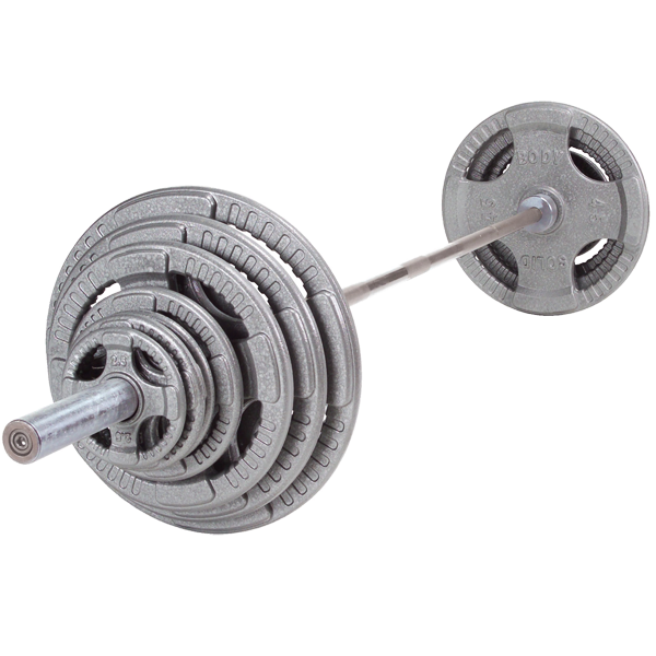 Body Solid OST400S Steel Grip Olympic Set 400lb