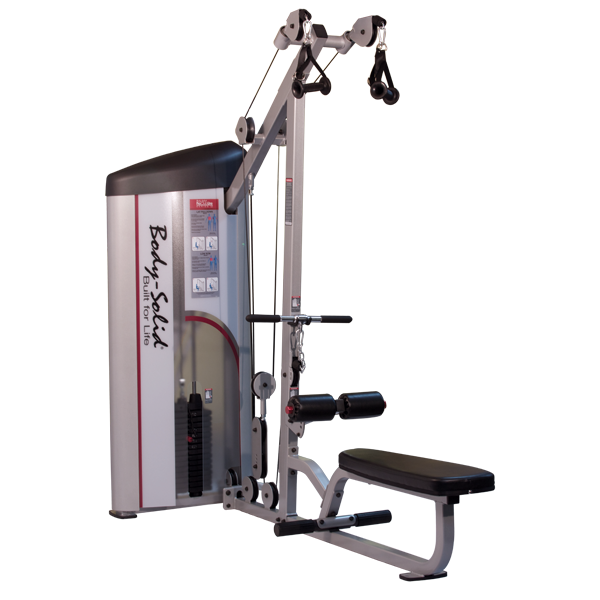 Body Solid Series II Lat Pulldown & Seated Row 160-235 lb Stack