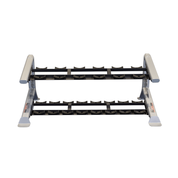 Body Solid SDKR500SD ProCLub Line 2-Tier Saddle Dumbbell Rack