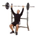 Body Solid SPB368G Shoulder Press Olympic Bench