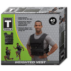 Body Solid Tools BSTWV40 Weighted Vest 40lb