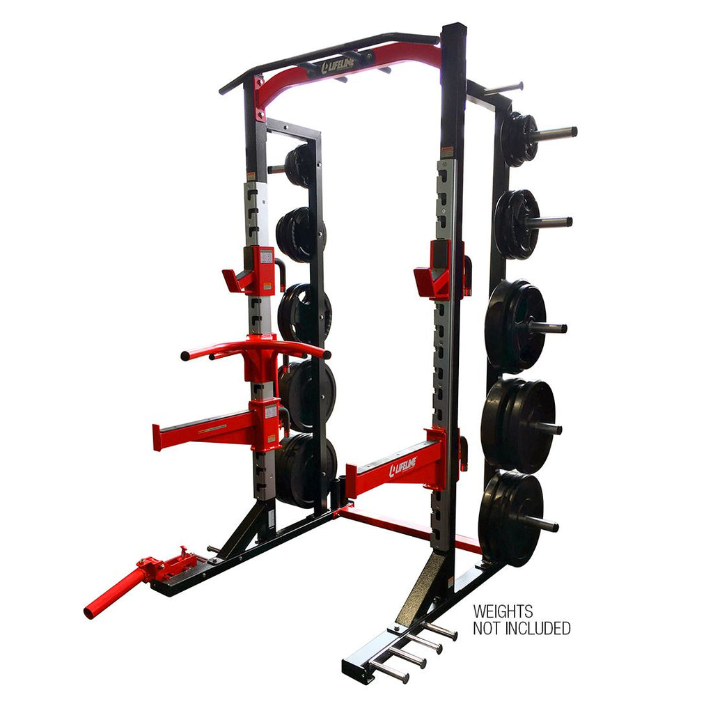 LifeLine Commercial Half Rack