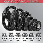LifeLine 25LB Pro Rubber Olympic Grip Plate