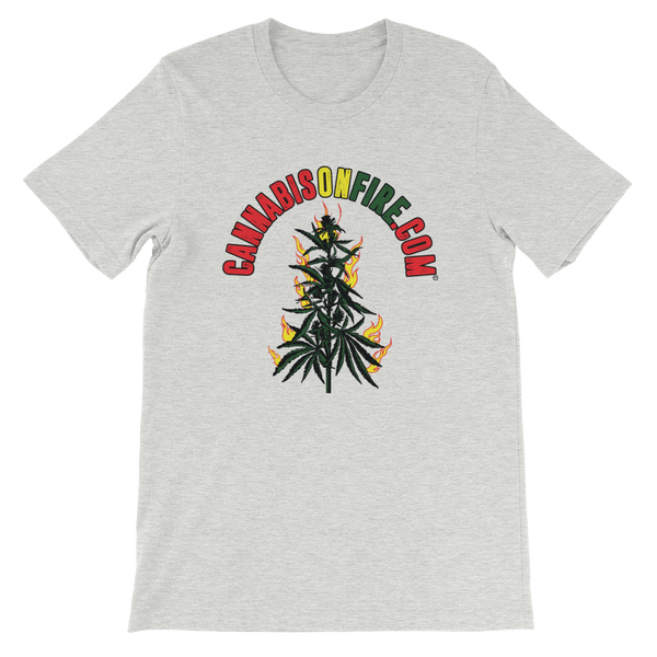 Cannabis On Fire T-Shirt