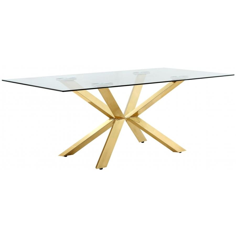 Meridian Furniture Capri Gold Dining Table - Dining Tables