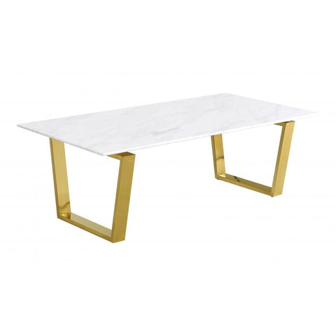 Meridian Furniture Cameron Gold Coffee table - Coffee Tables