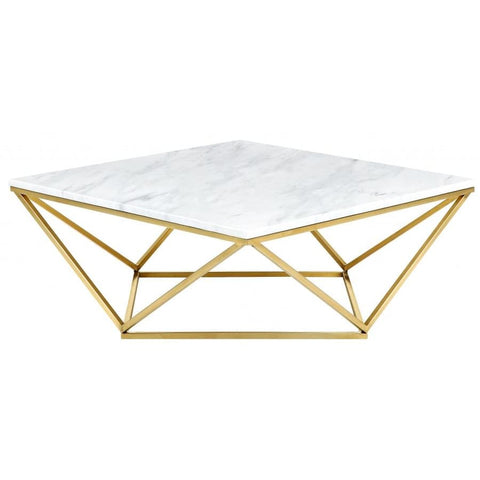 Meridian Furniture Mason Gold Coffee table - Coffee Tables