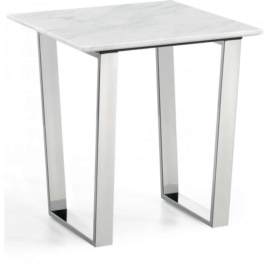 Meridian Furniture Carlton Chrome End Table - Other Tables