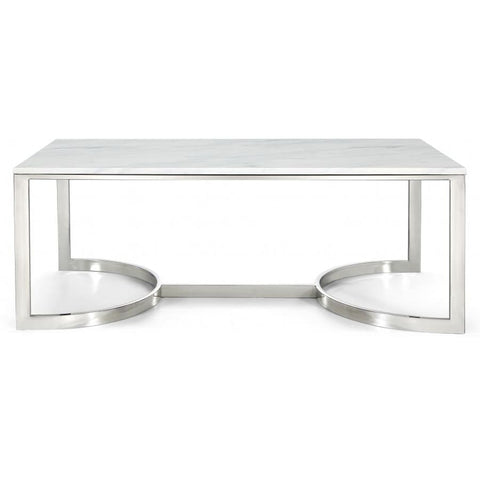 Meridian Furniture Copley Chrome Coffee table - Coffee Tables