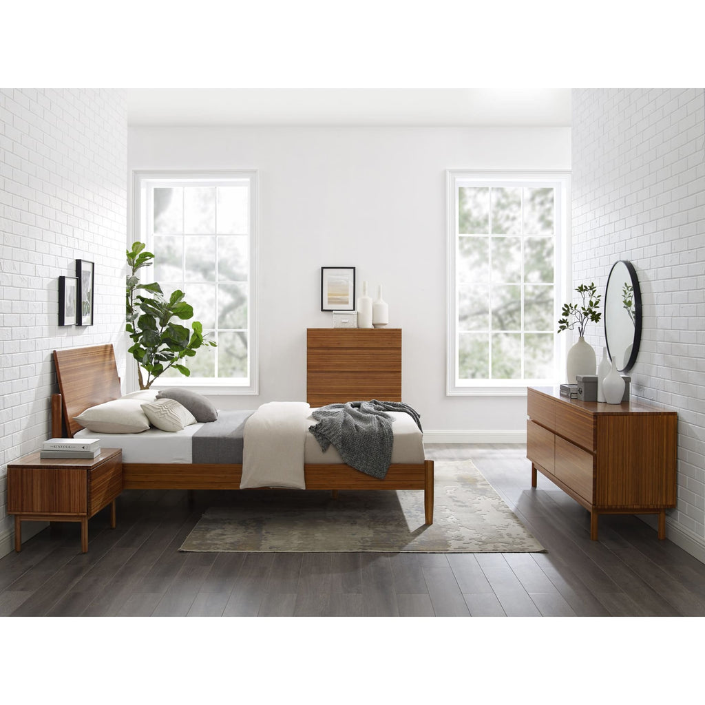 Greenington Monterey King Platform Bed Amber - Bedroom Beds