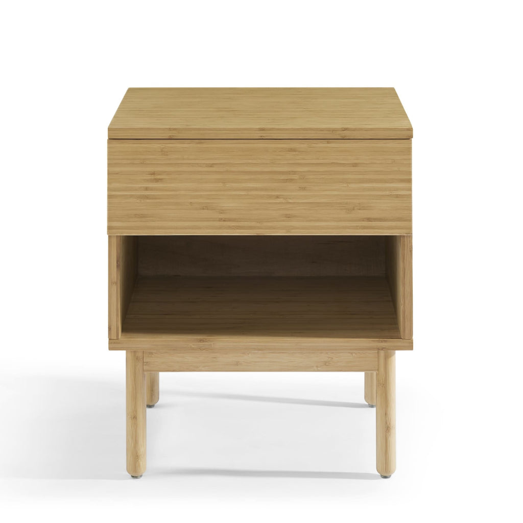 Eco Ridge by Bamax Ria 1 Drawer Nightstand Caramelized - Nightstand