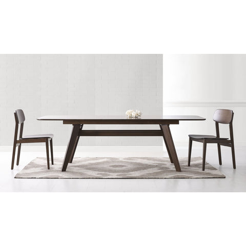 Greenington CURRANT Bamboo 72 - 92 Extendable Dining Table - Black Walnut - Dining Tables