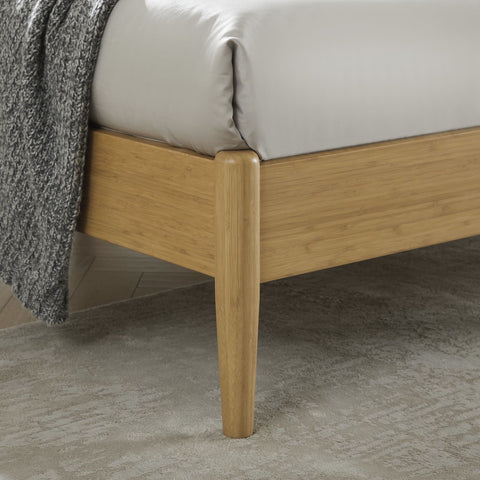 Eco Ridge by Bamax Ria Eastern King Platform Bed Caramelized - Bedroom Beds