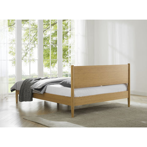 Eco Ridge by Bamax Ria Queen Platform Bed Caramelized - Bedroom Beds