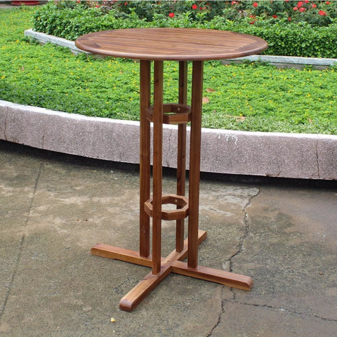 International Caravan Bar Height Bistro Table - Other Tables