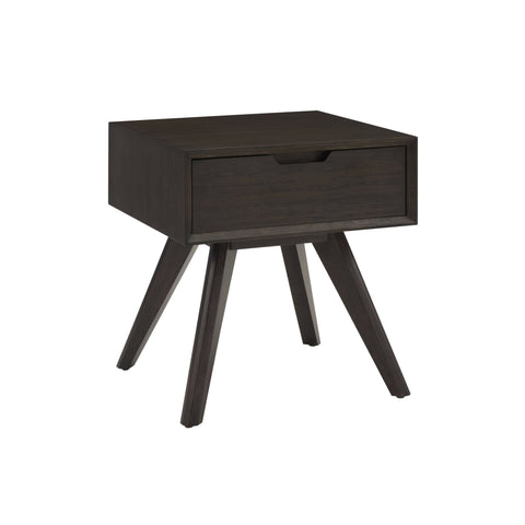 Eco Ridge by Bamax VALE 1 Drawer Nightstand Havana - Nightstand