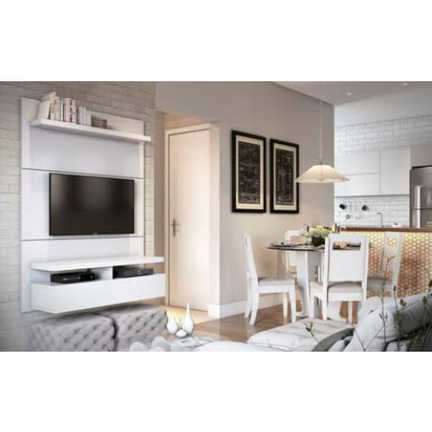 Manhattan Comfort City 1.2 Floating Wall Theater Entertainment Center - TV Stands